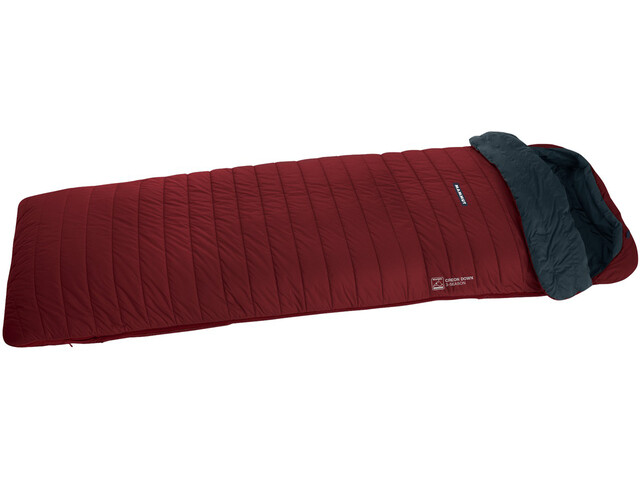 Mammut Creon Down 3-Season - Sac de couchage - 180cm rouge